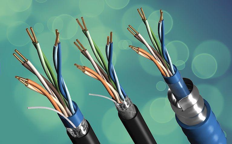 انواع کابل برق فشار ضعیف